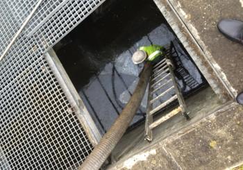 Pompage bassin autoroutier ASF – juin 2015