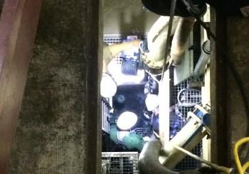 Pompage puits d'exhaures et Puits de mesures – EDF PALAMINY – juin 2015